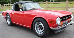 1970 Triumph TR6 RHD Conversion , Stomberg Carburettors  SOLD