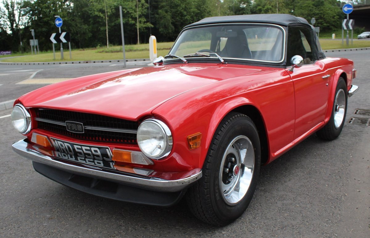 1970 Triumph TR6 RHD Conversion , Stomberg Carburettors  SOLD (picture 2 of 6)