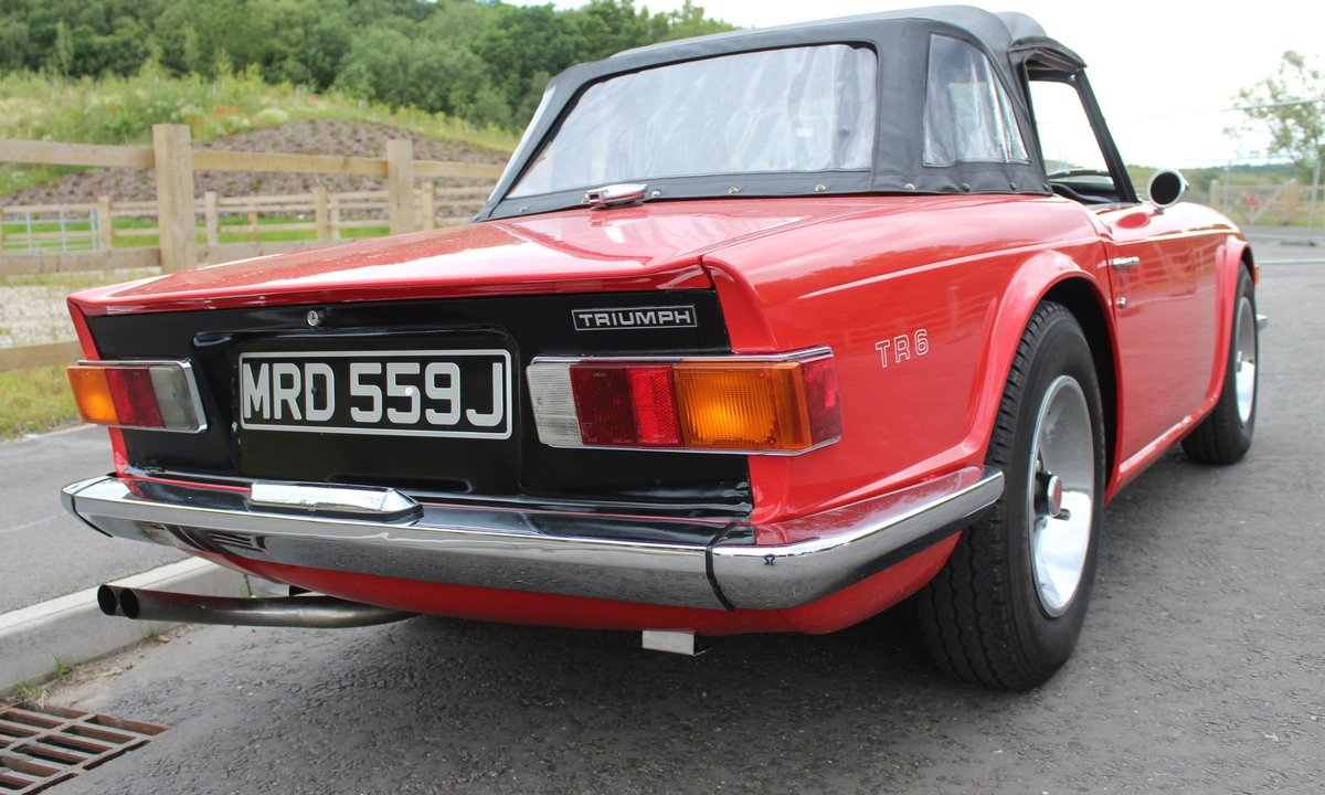 1970 Triumph TR6 RHD Conversion , Stomberg Carburettors  SOLD (picture 3 of 6)