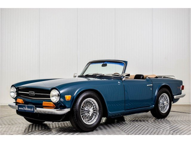 1974 Triumph TR6 Overdrive For Sale (picture 1 of 6)