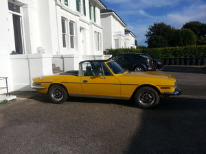 1976 MK2 Triumph Stag for sale SOLD