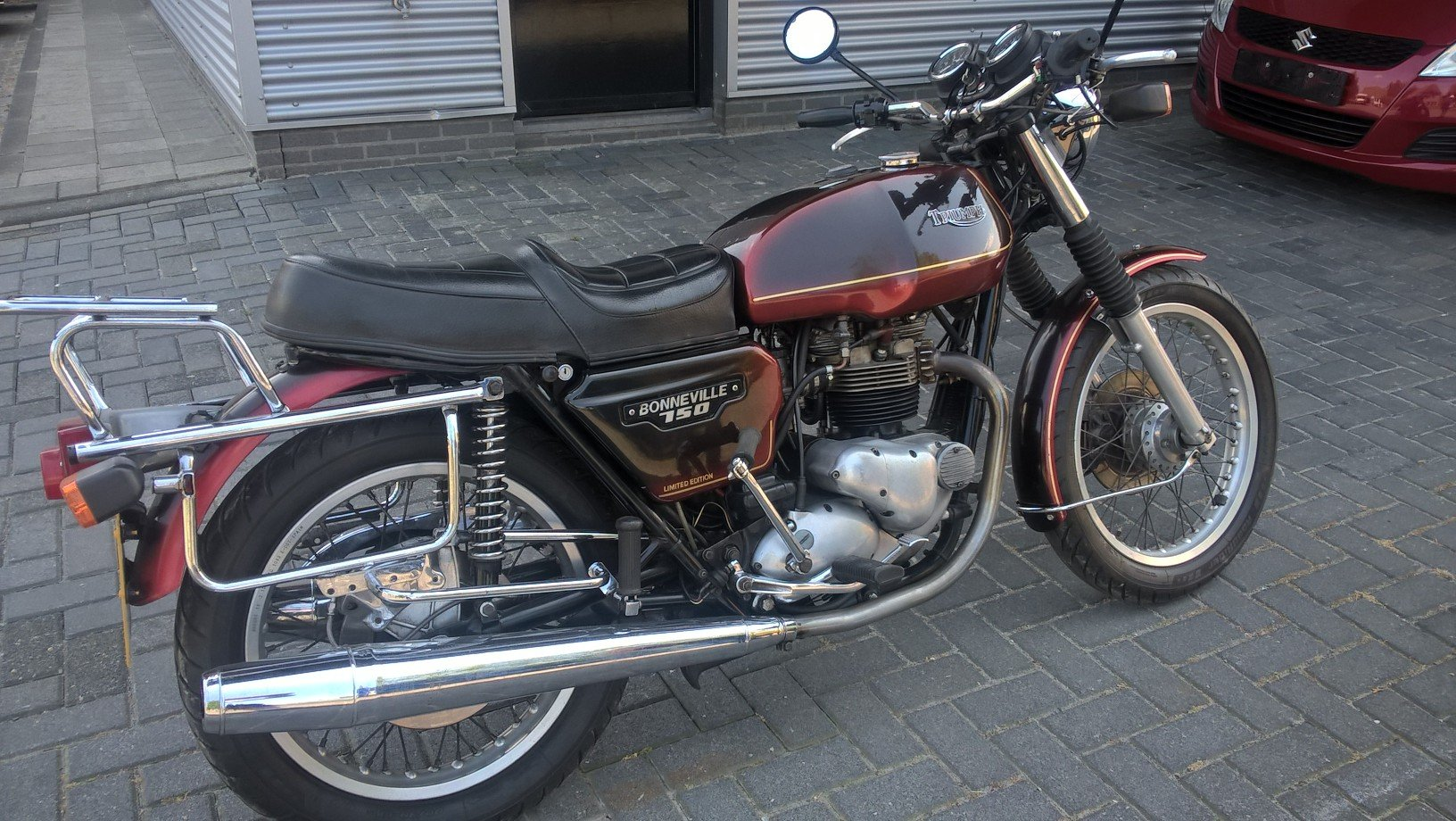 1980 Meriden electric start Bonneville For Sale (picture 4 of 6)