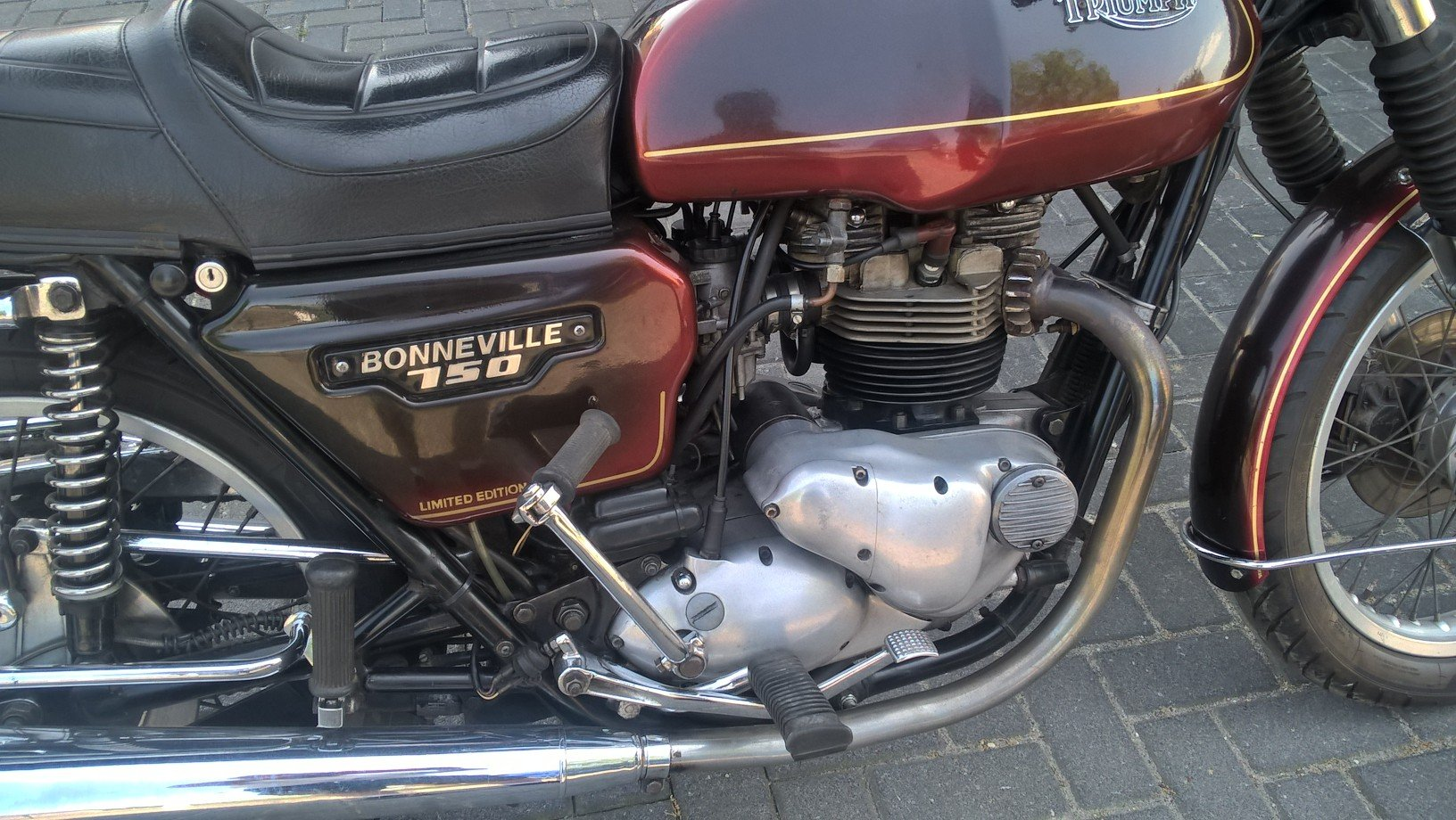 1980 Meriden electric start Bonneville For Sale (picture 6 of 6)