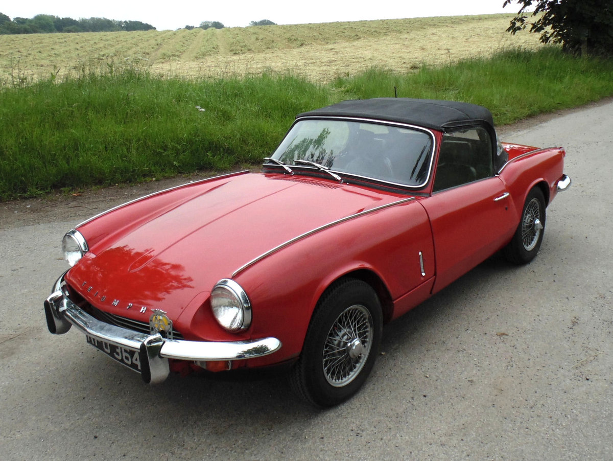 1967 Triumph Spitfire Mk3 SOLD (picture 1 of 6)
