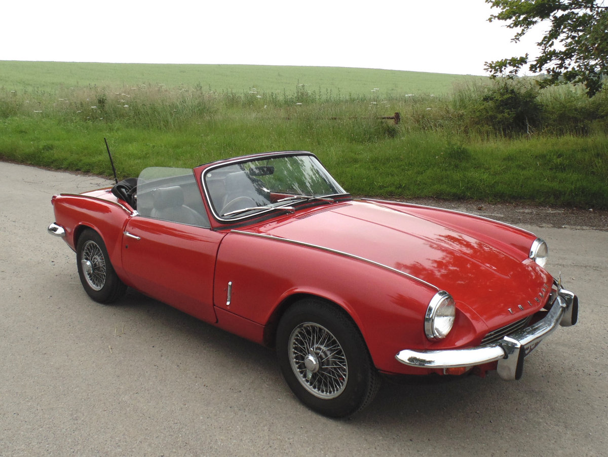 1967 Triumph Spitfire Mk3 SOLD (picture 2 of 6)