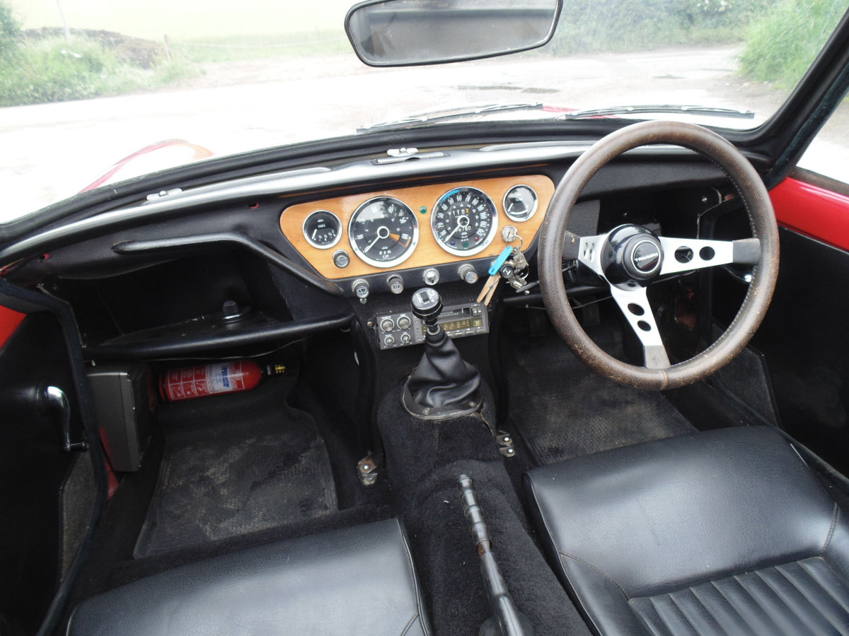 1967 Triumph Spitfire Mk3 SOLD (picture 4 of 6)