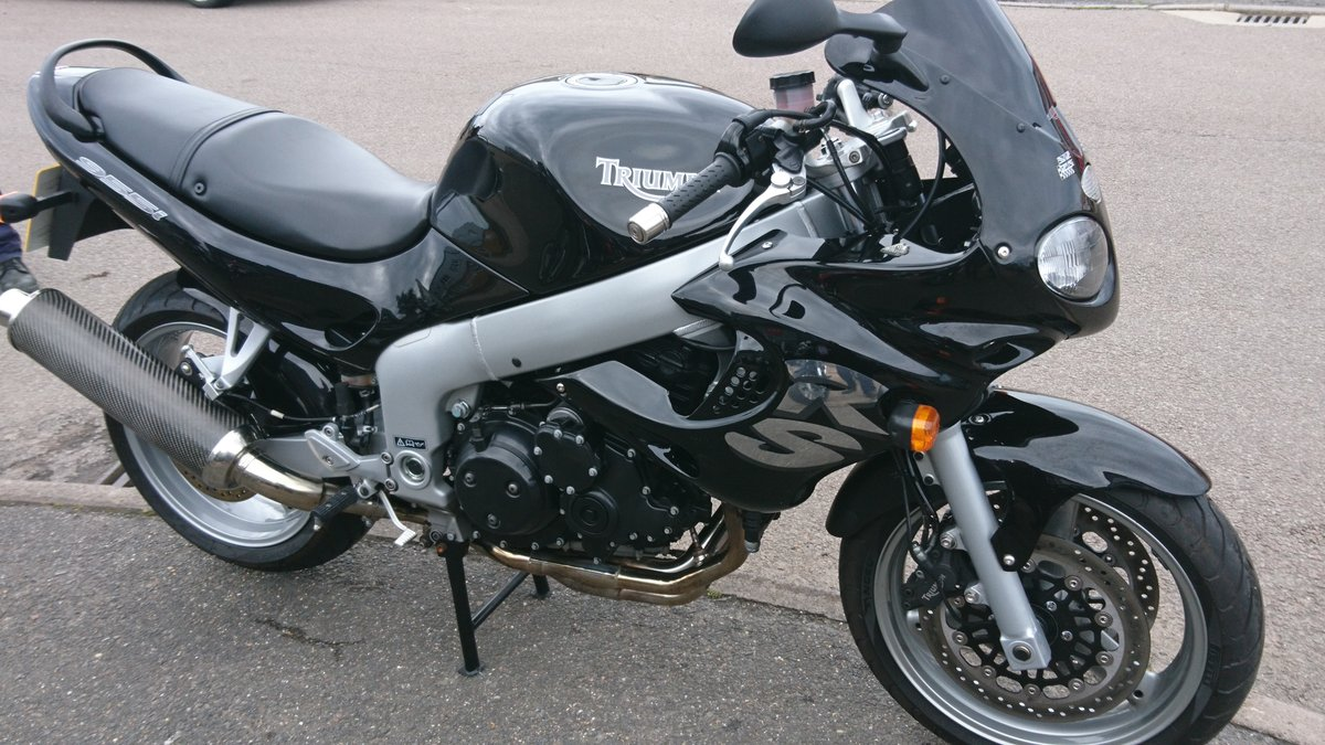 2002 AWESOME TRIUMPH RS 955-I For Sale (picture 1 of 6)