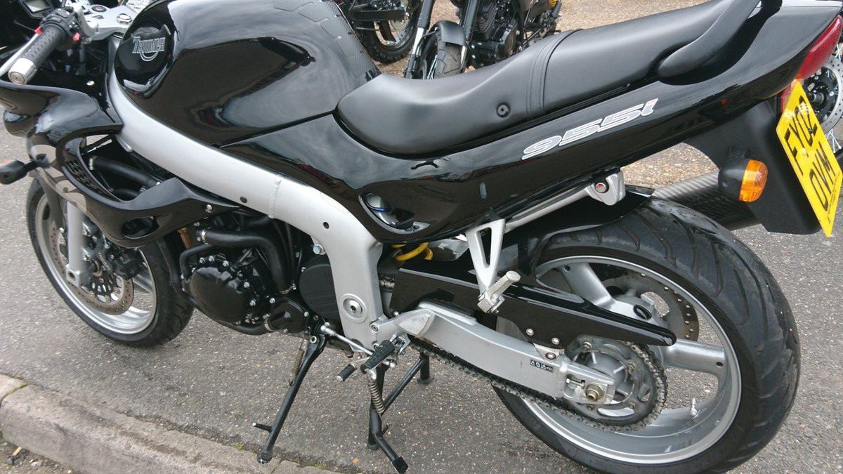 2002 AWESOME TRIUMPH RS 955-I For Sale (picture 2 of 6)