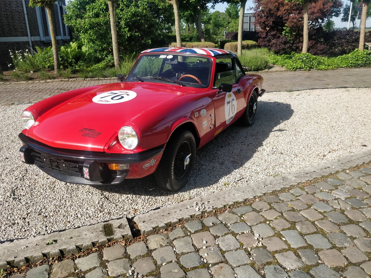 1976 Triumph Spitfire 1500 '76 SOLD (picture 2 of 6)
