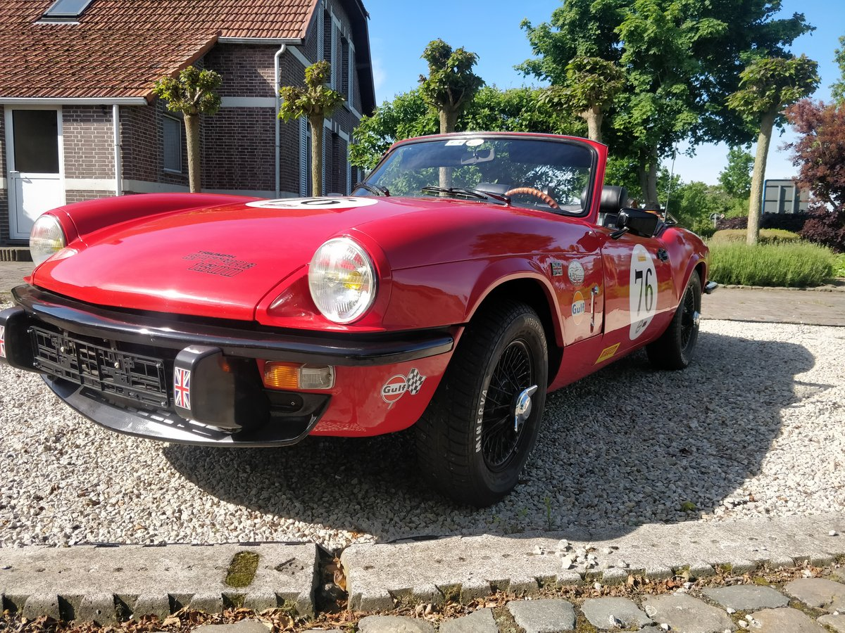 1976 Triumph Spitfire 1500 '76 SOLD (picture 4 of 6)