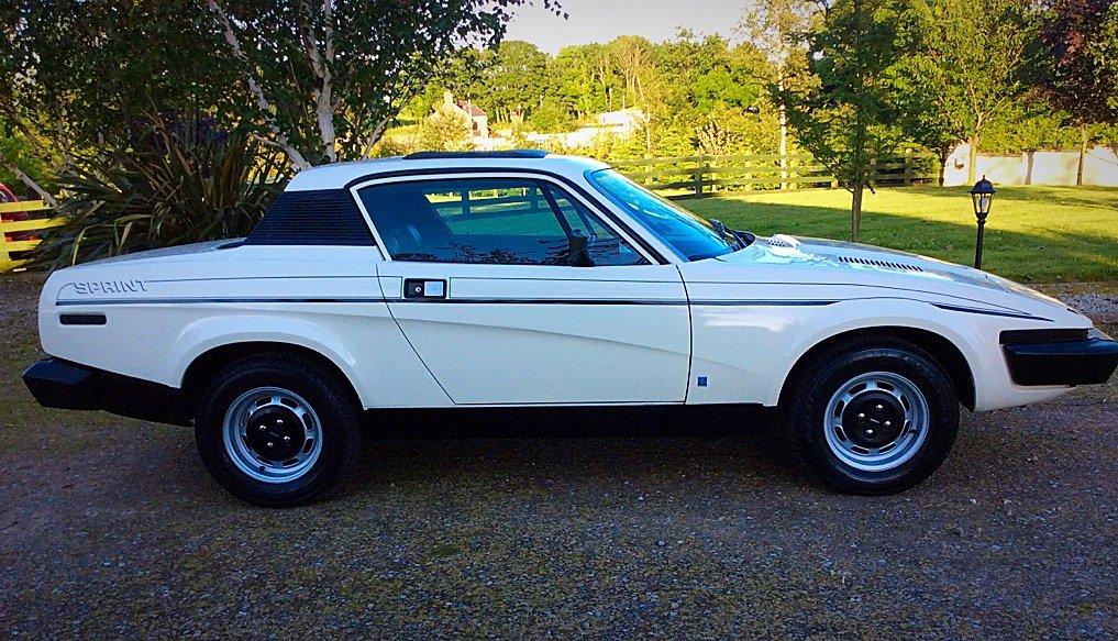 1975 TRIUMPH TR7 SPRINT - VIN ACG5 - SUPERB PROVENANCE  For Sale (picture 2 of 6)