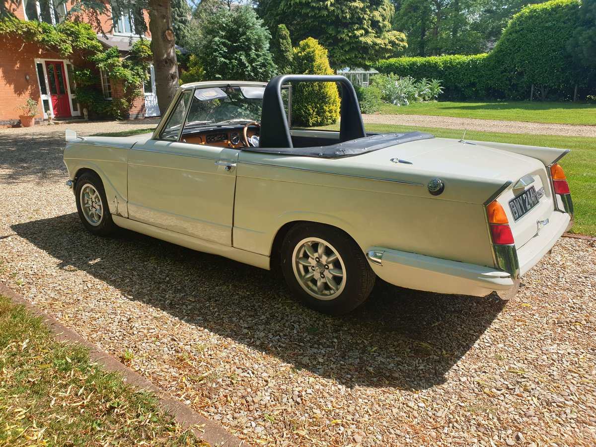 1969 Triumph Herald 13/60 Convertible SOLD (picture 2 of 6)