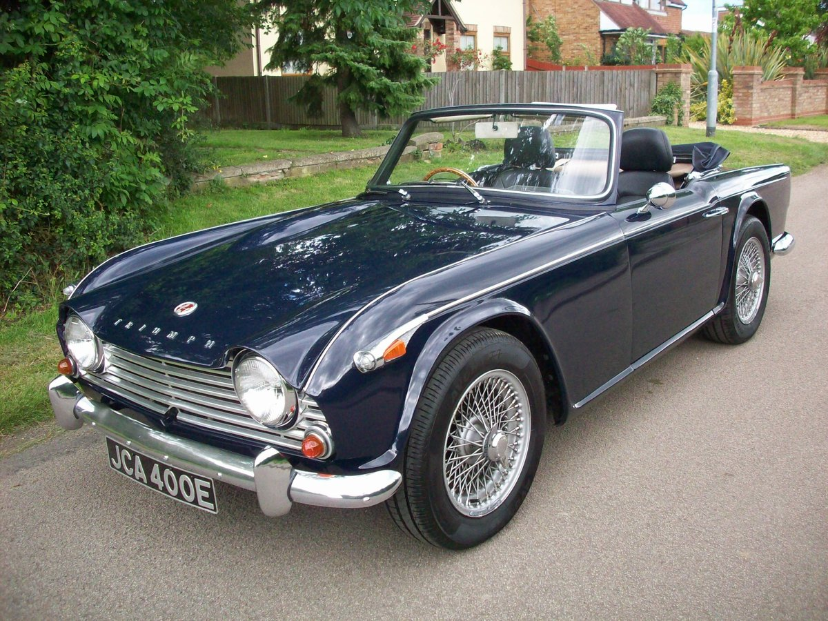 1967 TR4A IRS SOLD (picture 1 of 6)