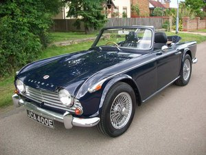 1967 TR4A IRS