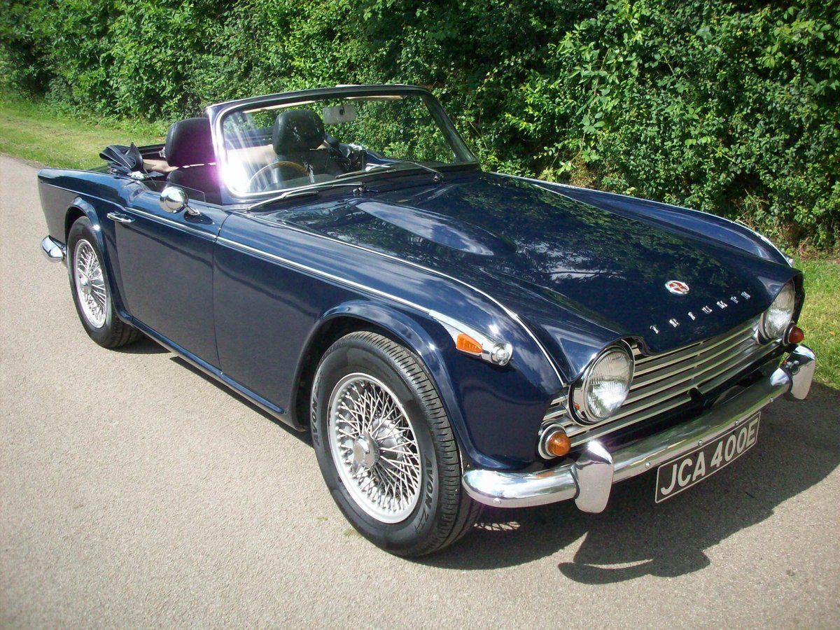 1967 TR4A IRS SOLD (picture 2 of 6)