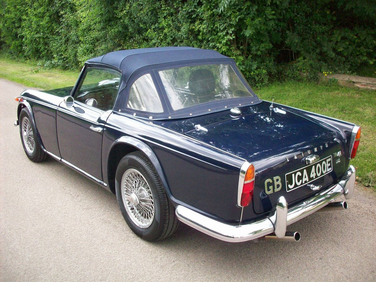 1967 TR4A IRS SOLD (picture 3 of 6)