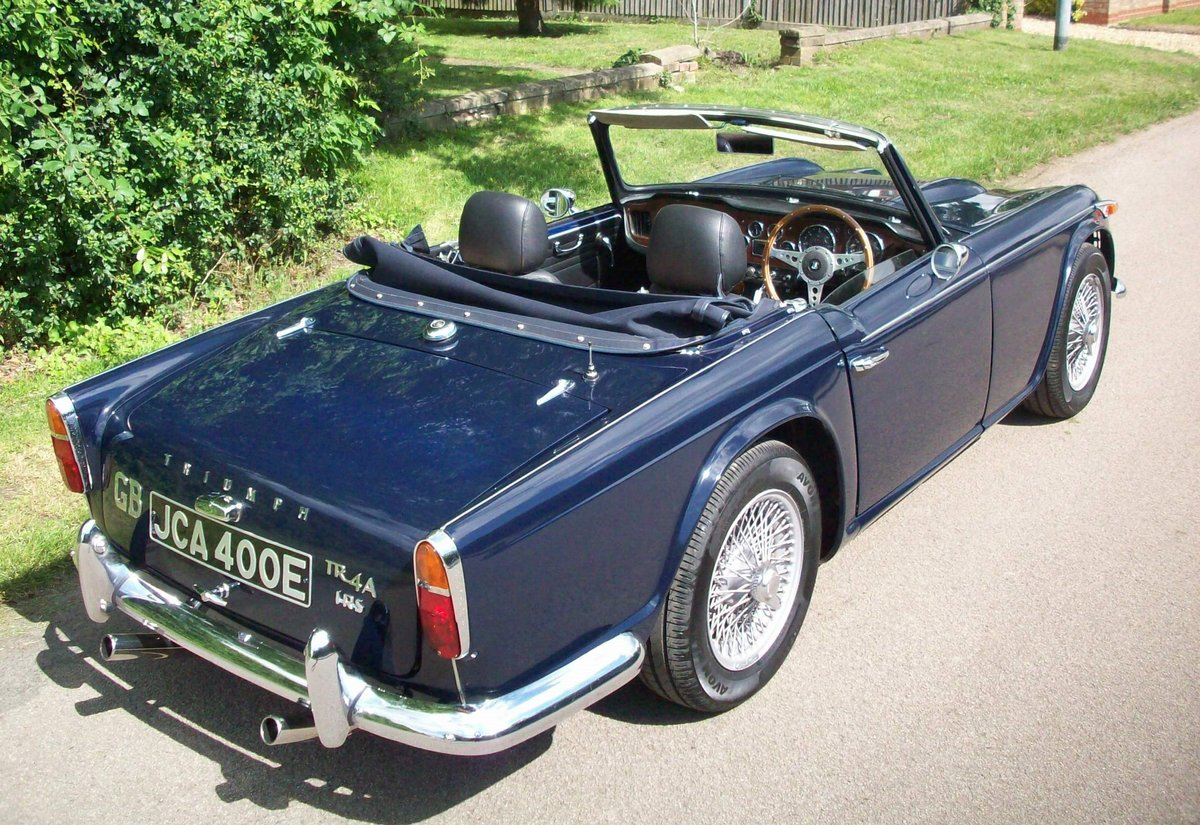 1967 TR4A IRS SOLD (picture 4 of 6)