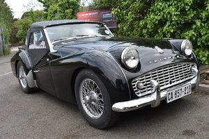 Lot 27 - A 1962 Triumph TR3A - 11/09/2019 For Sale by Auction