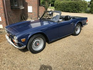 1974 Triumph tr 6 uk car new mot new tyres all sound For Sale
