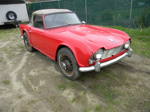 1964 Triumph TR4 Roadster to Restore , Free Shipping For Sale