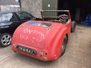 1949 Triumph Roadster 2000 Barn Find Project For Sale