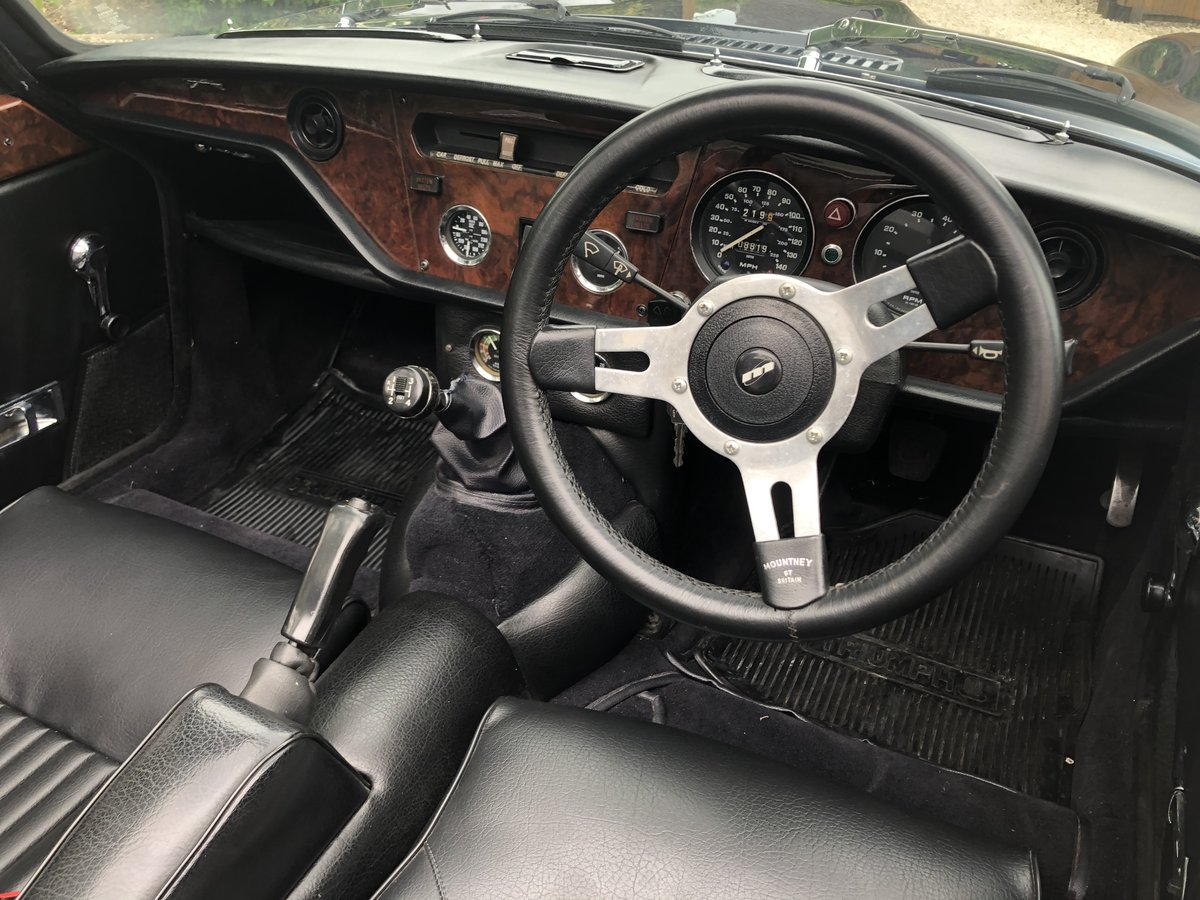 1972 Triumph GT6 Convertible For Sale (picture 4 of 6)