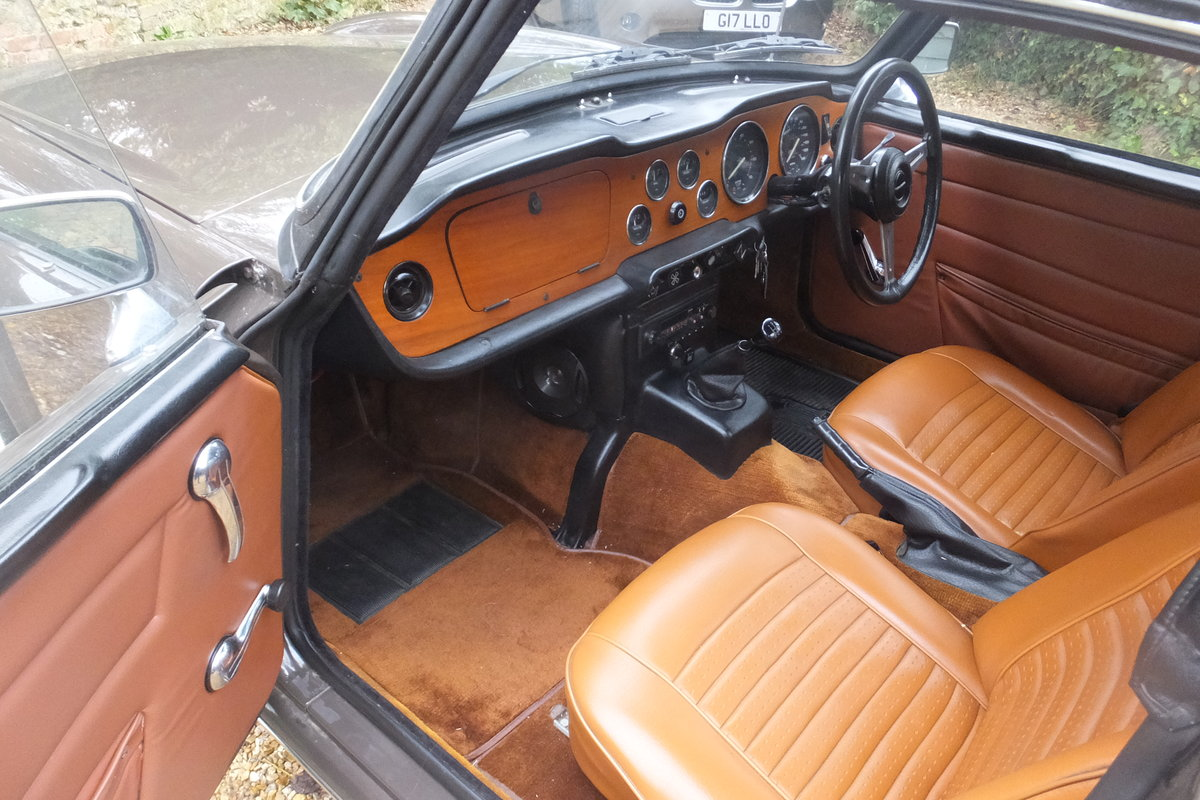 1973 TR6 Rare and original Low Mileage Vehicle For Sale (picture 2 of 6)