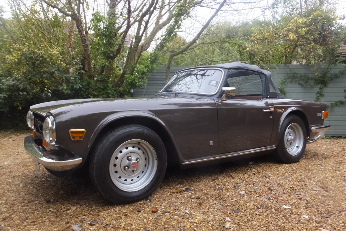 1973 TR6 Rare and original Low Mileage Vehicle For Sale (picture 4 of 6)