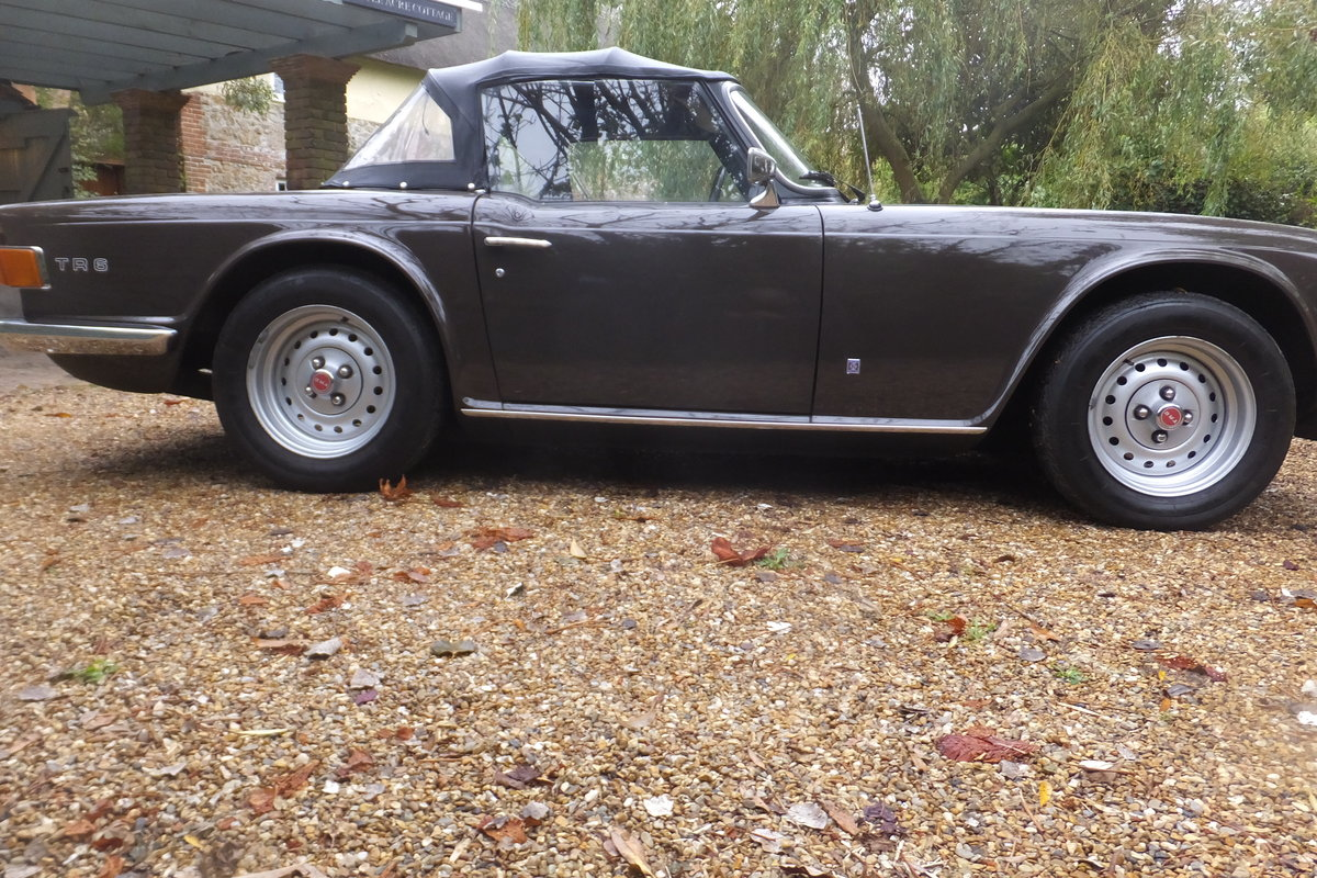 1973 TR6 Rare and original Low Mileage Vehicle For Sale (picture 5 of 6)