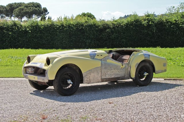 1958 Triumph TR3A LHD For Sale (picture 1 of 3)
