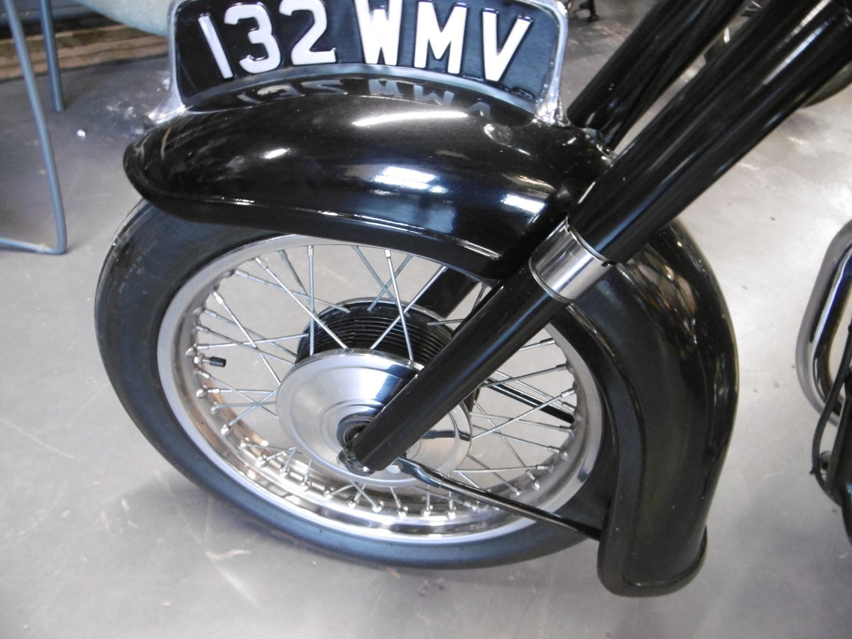 1959 Triumph Speed Twin 5TA. Very original all correct  For Sale (picture 5 of 6)