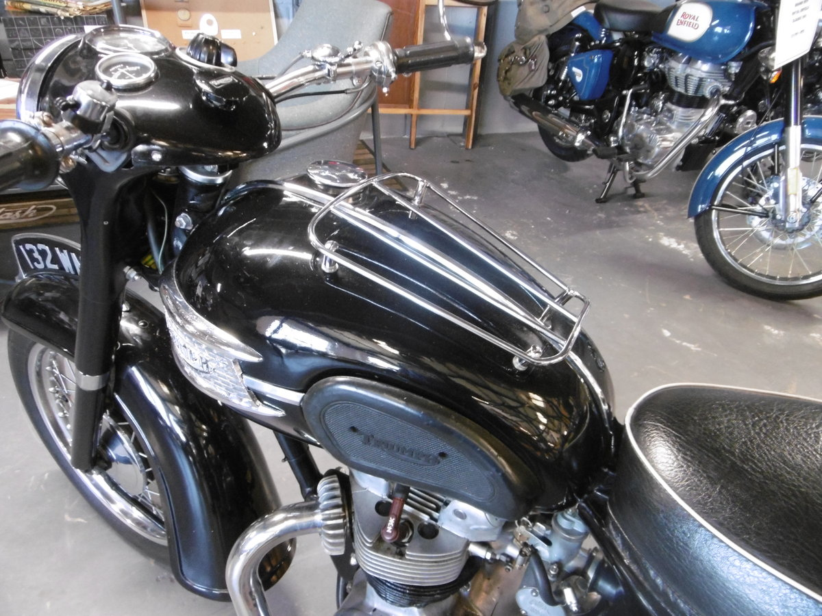1959 Triumph Speed Twin 5TA. Very original all correct  For Sale (picture 6 of 6)