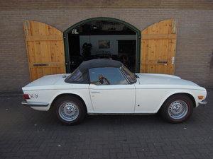 1974 Triumph tr6 original