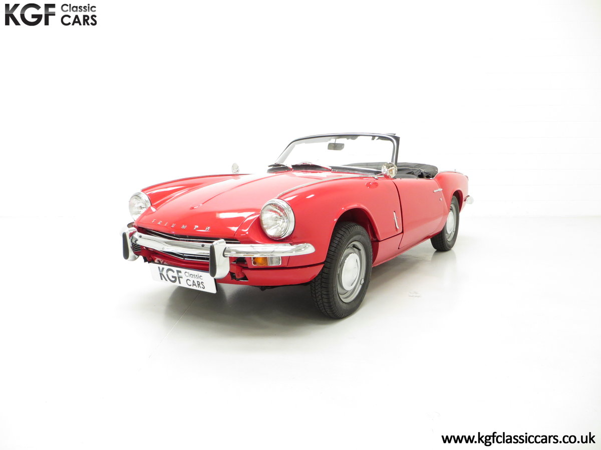 1968 A Classic Triumph Spitfire Mk3 with a Large History File SOLD (picture 2 of 6)