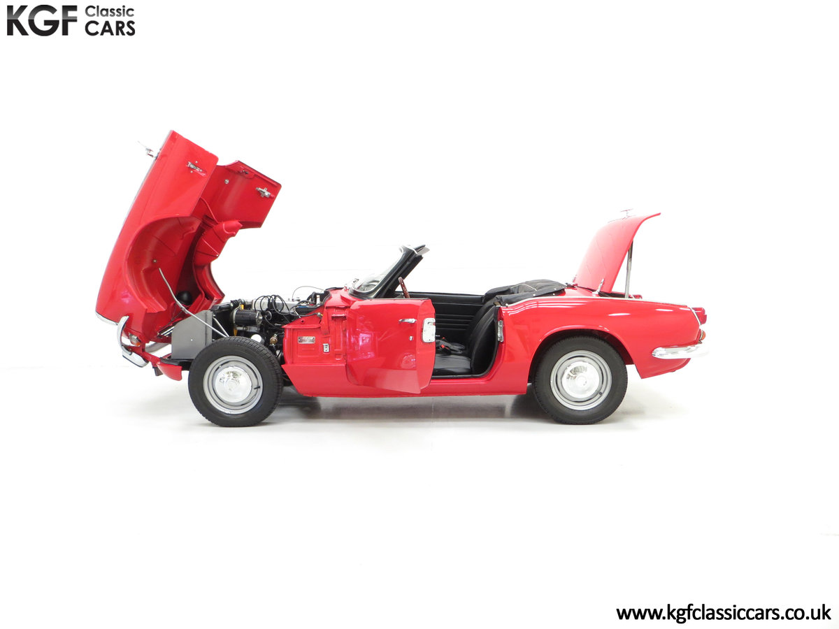 1968 A Classic Triumph Spitfire Mk3 with a Large History File SOLD (picture 3 of 6)