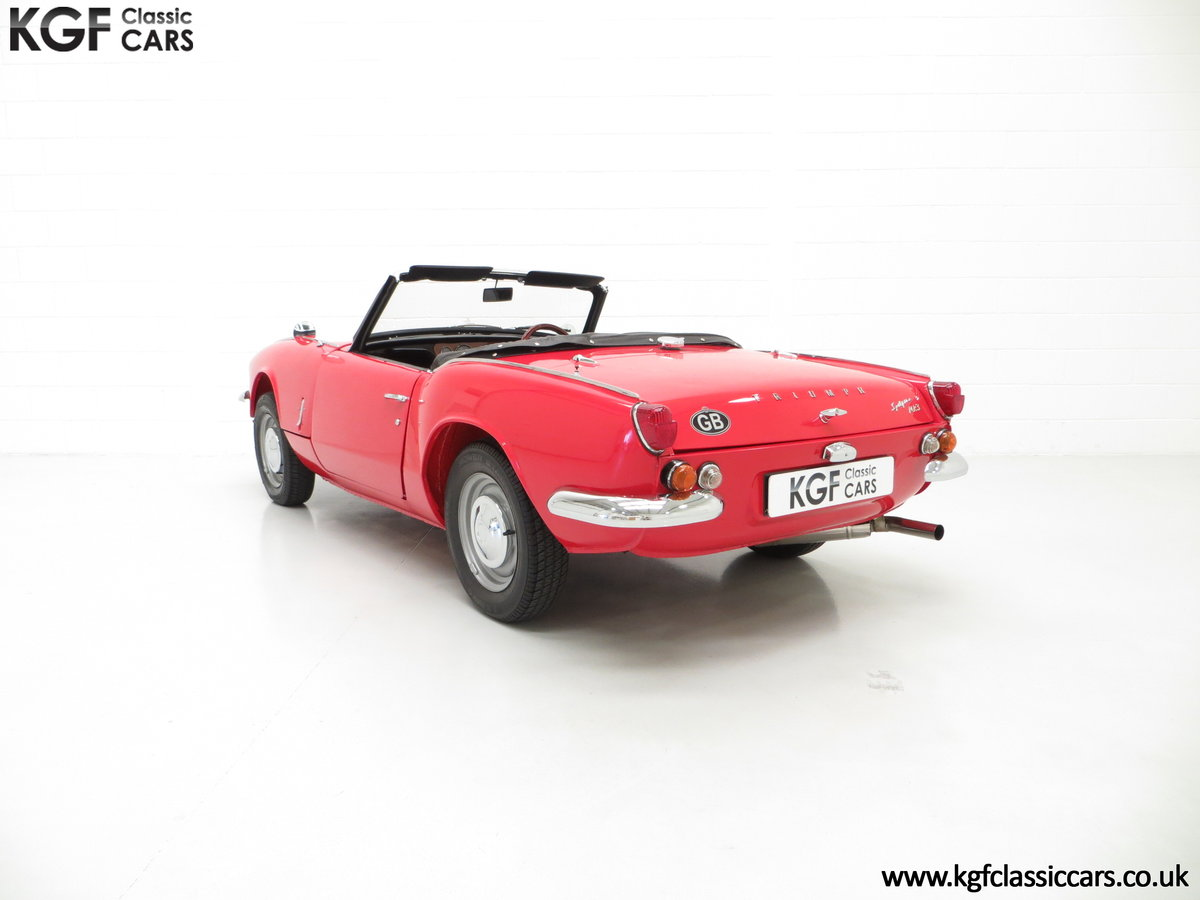 1968 A Classic Triumph Spitfire Mk3 with a Large History File SOLD (picture 4 of 6)