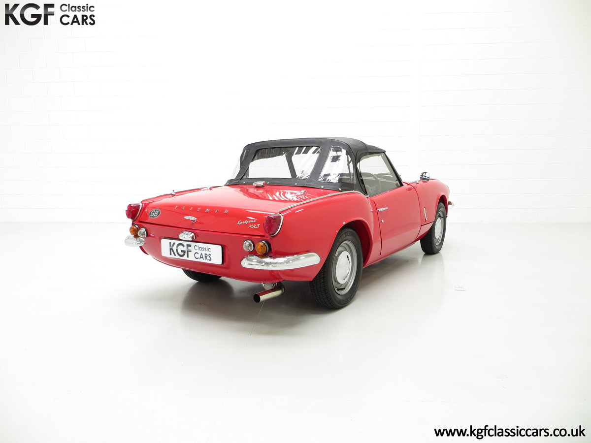 1968 A Classic Triumph Spitfire Mk3 with a Large History File SOLD (picture 5 of 6)