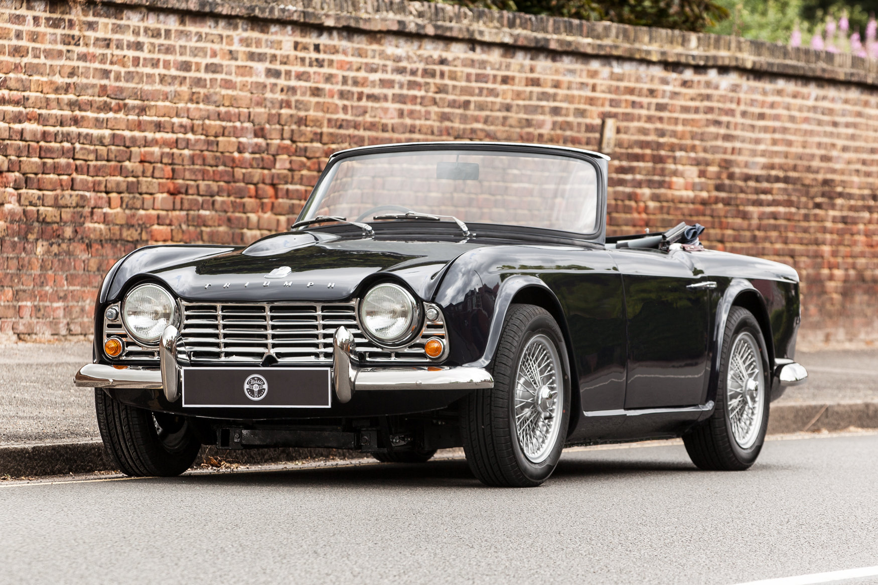 1964 Triumph TR4 with factory fitted overdrive SOLD (picture 1 of 5)