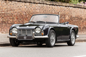 1964 Triumph TR4 with factory fitted overdrive For Sale