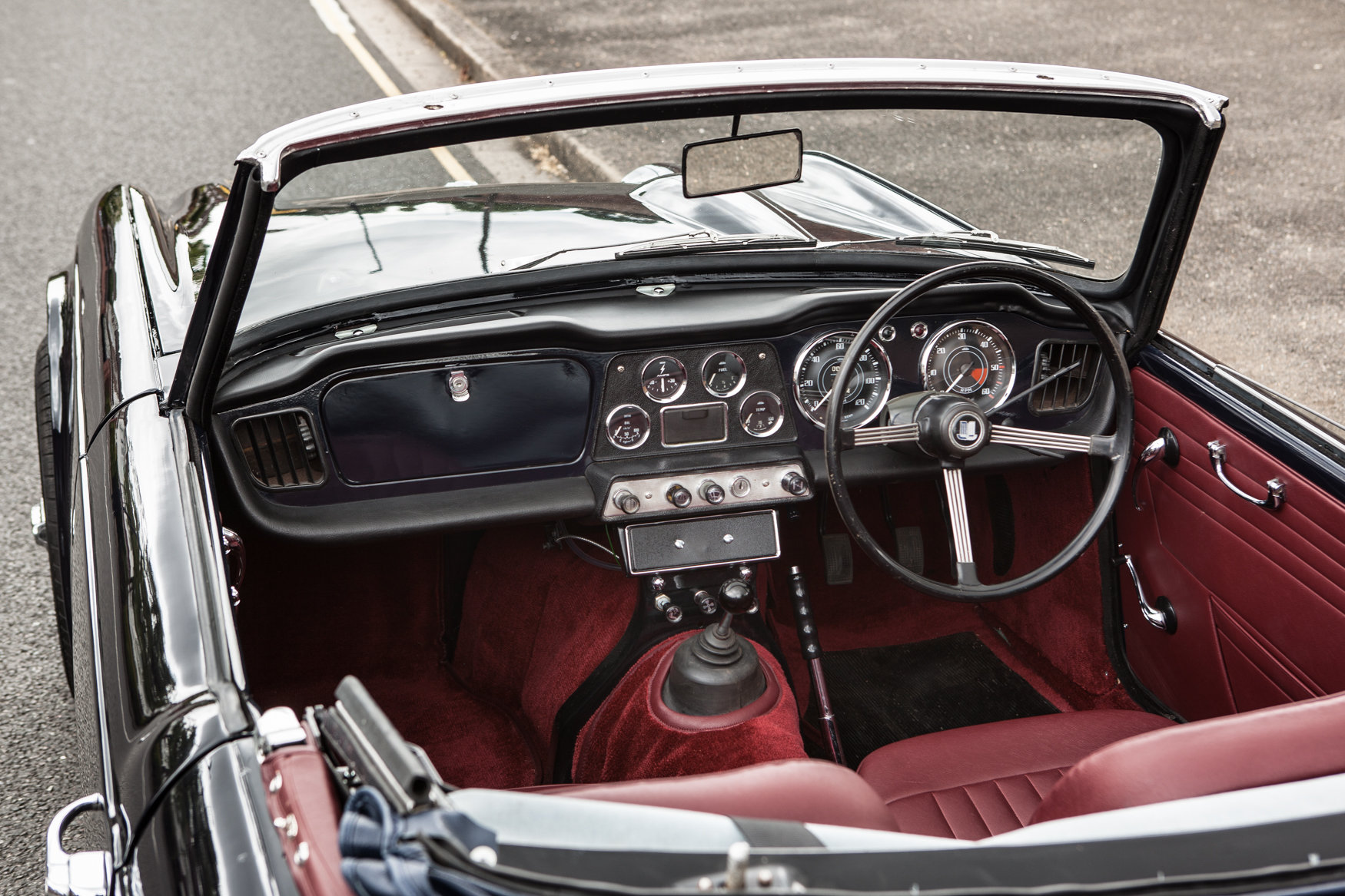 1964 Triumph TR4 with factory fitted overdrive SOLD (picture 3 of 5)