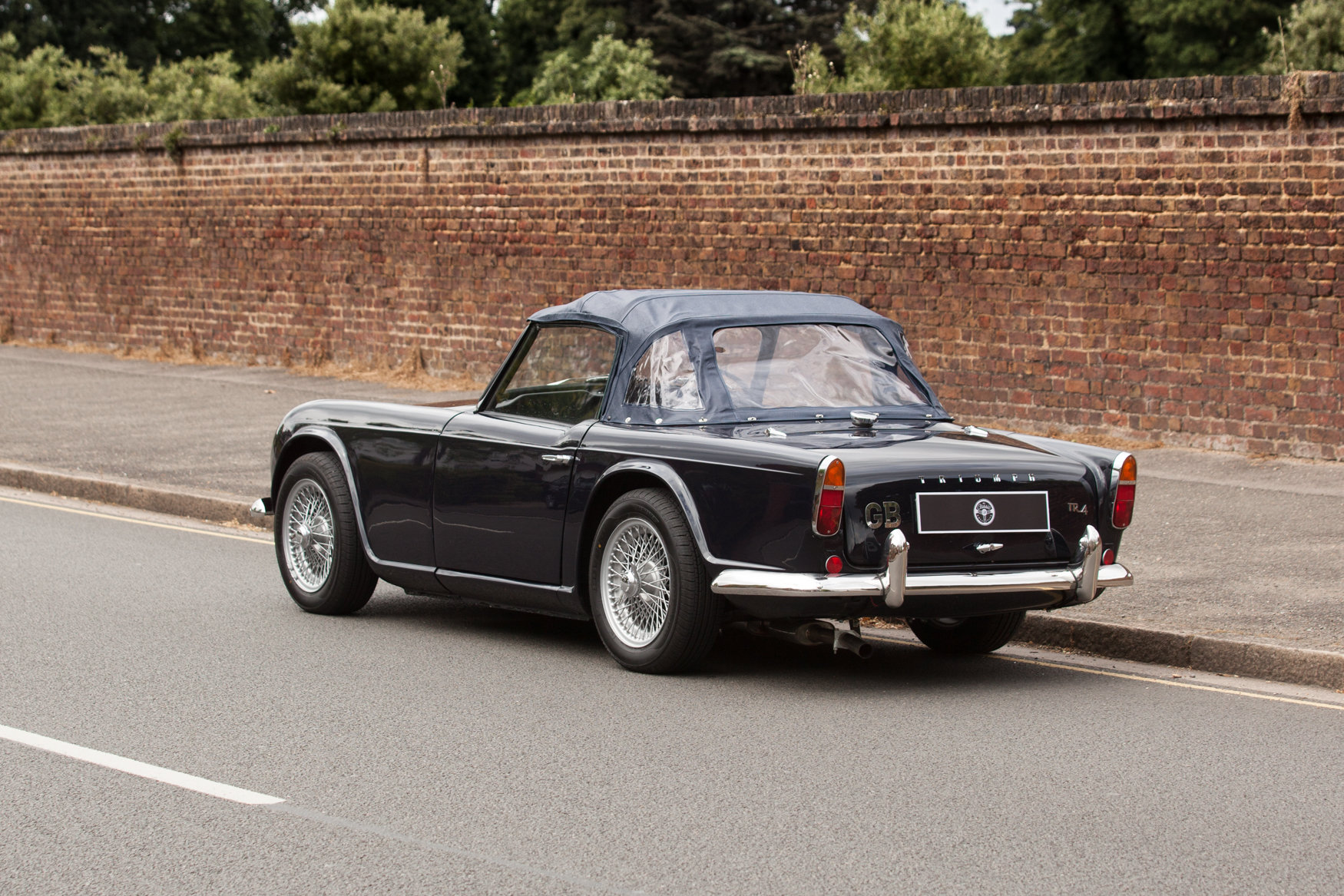 1964 Triumph TR4 with factory fitted overdrive SOLD (picture 4 of 5)