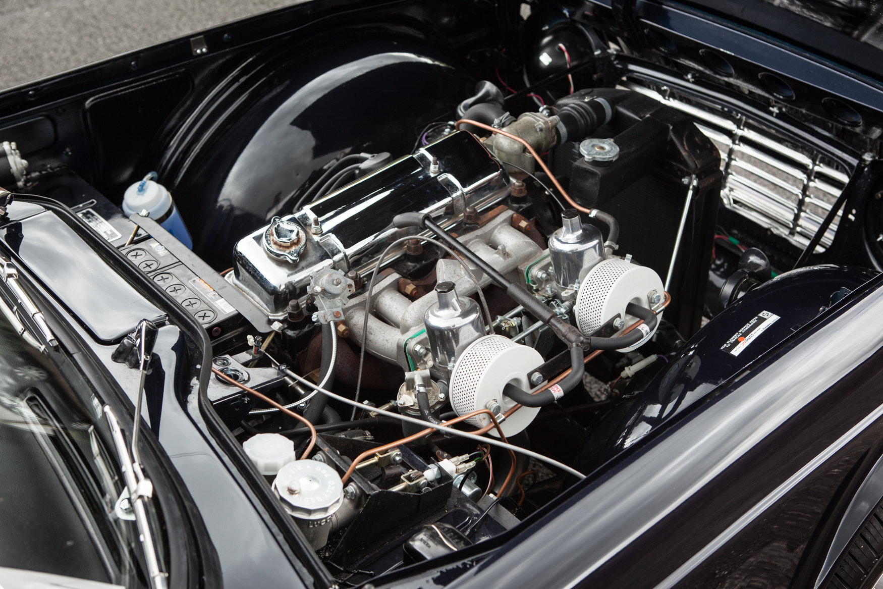 1964 Triumph TR4 with factory fitted overdrive SOLD (picture 5 of 5)