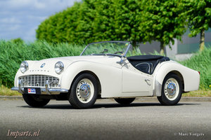 1959 Nice Triumph Tr3A with Overdrive For Sale