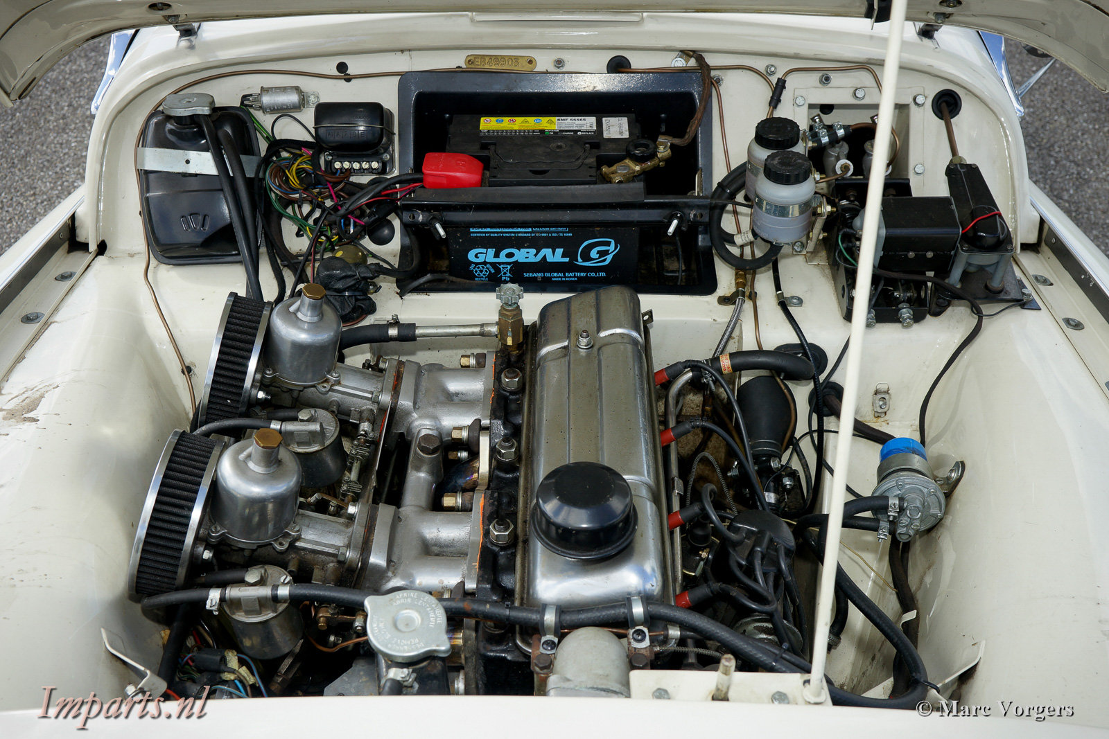 1959 Nice Triumph Tr3A with Overdrive For Sale (picture 3 of 6)