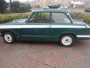 1963 Triumph Vitesse 1600 green saloon A reg