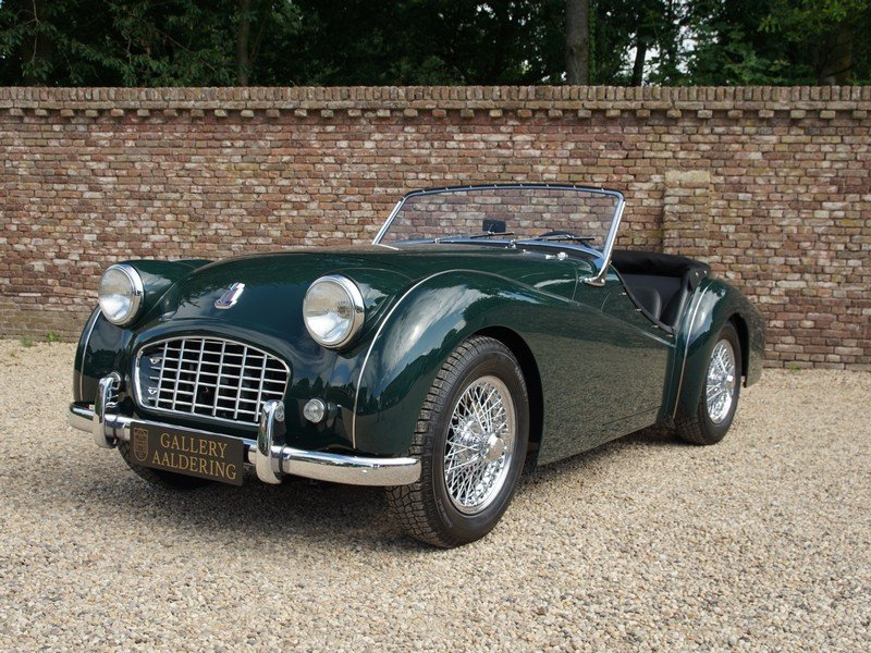 1957 Triumph TR3 Small-Mouth Bare-Metal restored, TOP condition,  For Sale (picture 1 of 6)