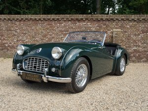 1957 Triumph TR3 Small-Mouth Bare-Metal restored, TOP condition,  For Sale