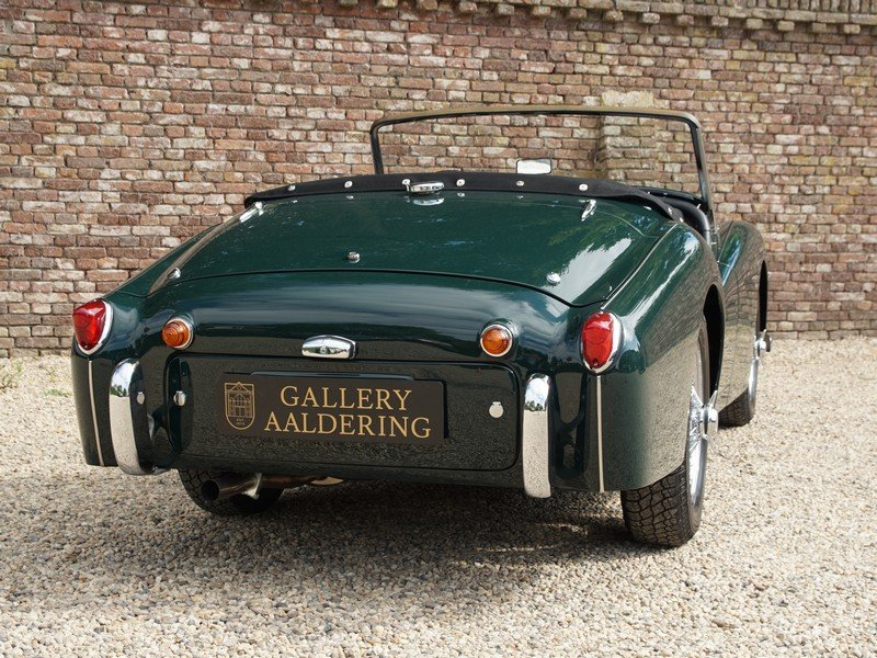1957 Triumph TR3 Small-Mouth Bare-Metal restored, TOP condition,  For Sale (picture 6 of 6)