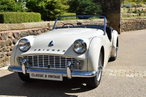 1957 Triumph TR3 RHD For Sale