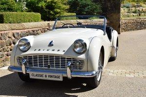 1957 Triumph TR3 RHD